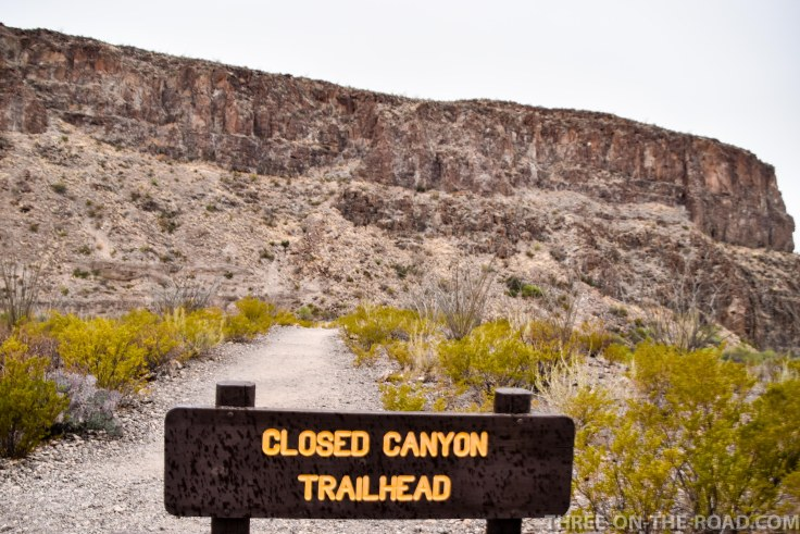Closed Canyon, Big Bend SP
