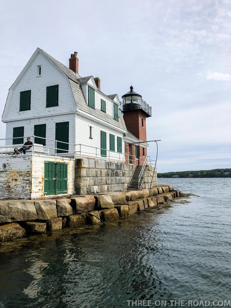 Rockland Breakwater Lighthouse, ME