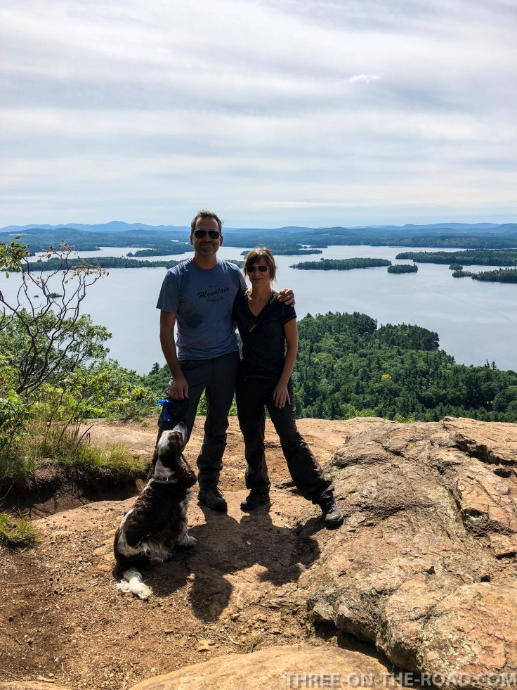 Rattlesnake Trail_Lake Squam