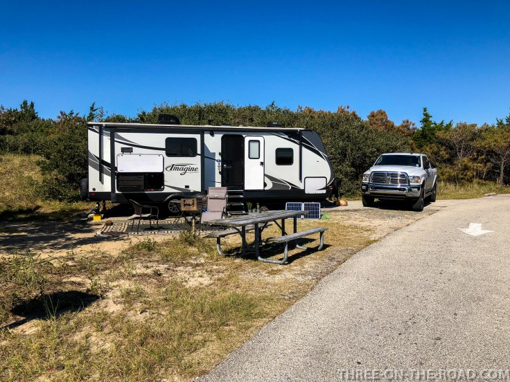 Cape Hatteras, Outer Banks, NC, Frisco Campground