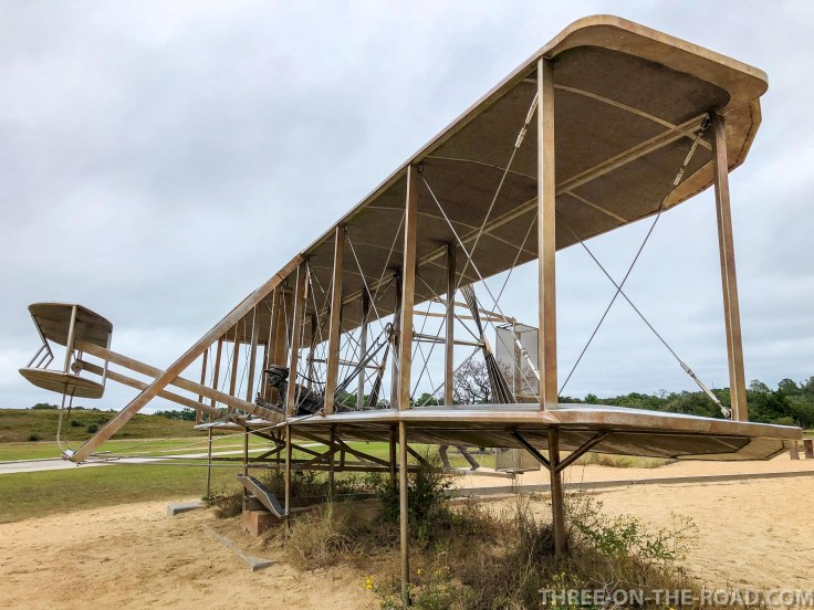 Wright Brothers Memorial, First Flight, OBX, NC