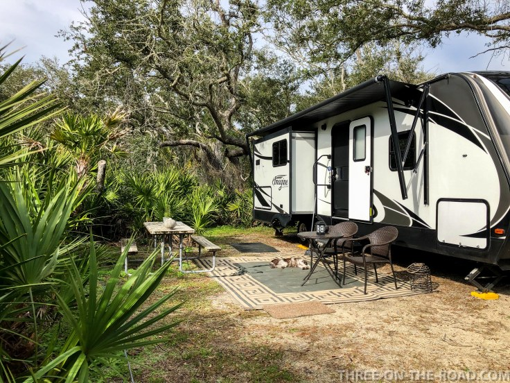 North Beach Campground, St. Augustine, FL